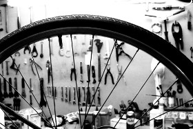 Wheel Building at High Tide Cycles